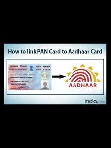 Link Aadhaar to PAN